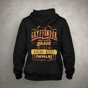 Hoodie Gryffindor Đen