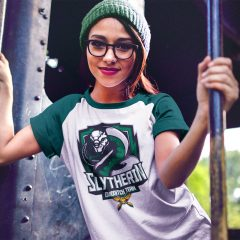 Áo thun Slytherin Quidditch Team – Raglan