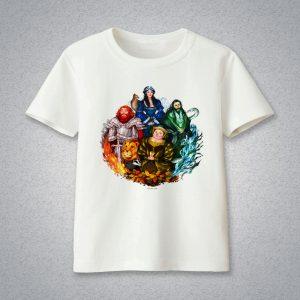 Áo phông Bốn nhà Sáng lập Hogwarts