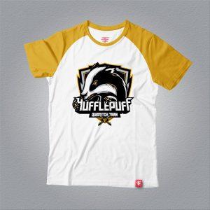 Áo thun Hufflepuff Quidditch Team – Raglan