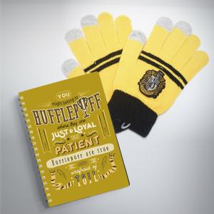 Combo Găng tay và Sổ tay Hufflepuff
